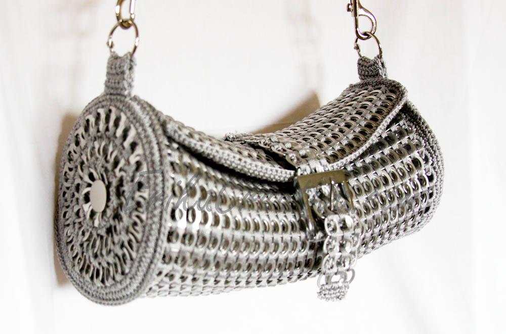 Bolsa cilindrica de anillas