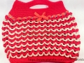 Crochet pop tab purse