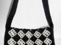 Granny square pop tab purse