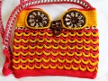 Owl pop tab purse