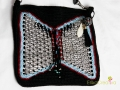 Butterfly-shaped pop tab bag