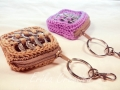 Key Chain Pop Tab coin purse
