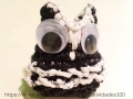 Plarn Owl coin purse